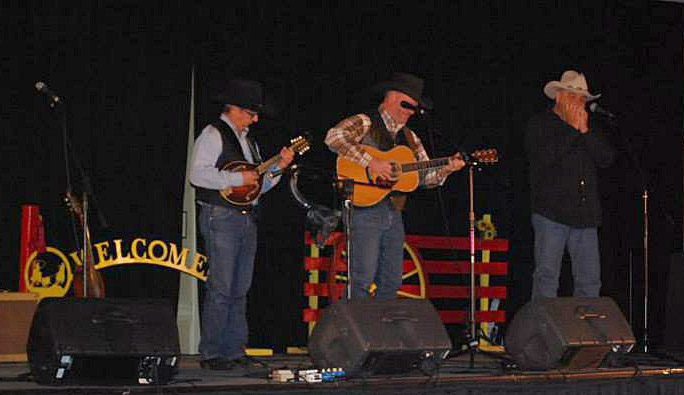 Ernie Martinez, Barry Ward, Jon Chandler, WMA Opry, Nov 14 2014