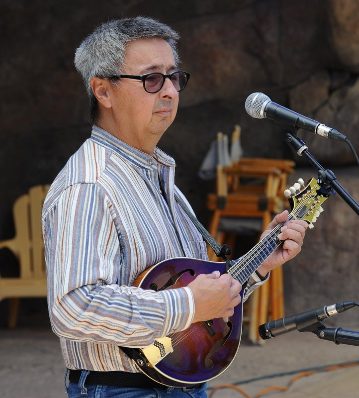 Ernie Martinez at HIgh Peaks Music Festival Sept 2014