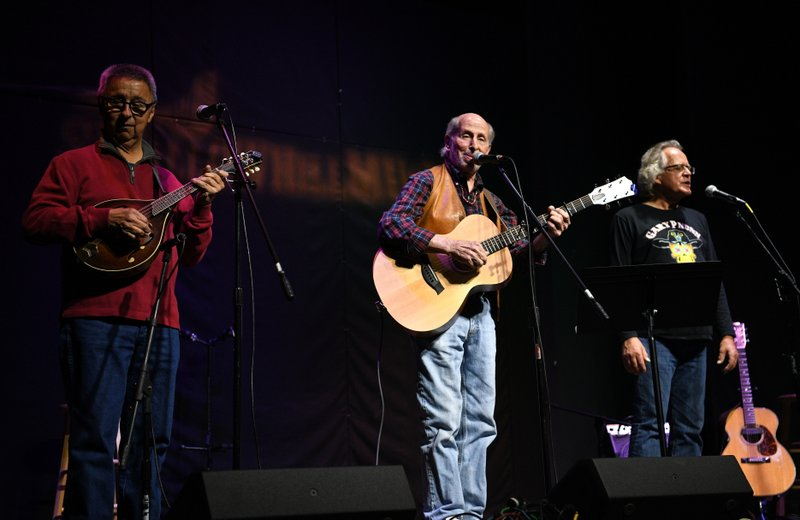 with Jim Ratts, Harry Tuft, Chuck Pyle Tribute Concert, Swallow Hill, Denver, Oct 2018