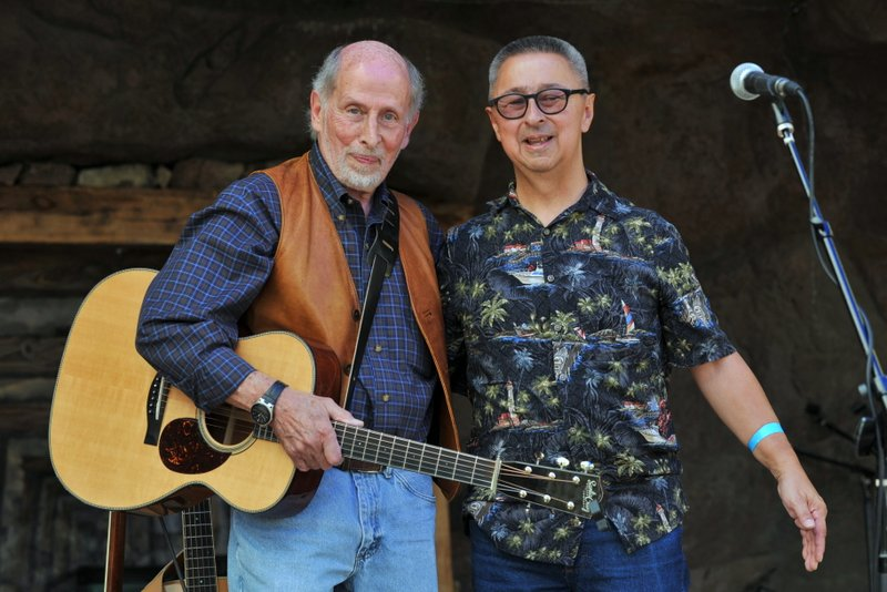 with Harry Tuft, High Peaks Music Festival, Westcliffe, 2017