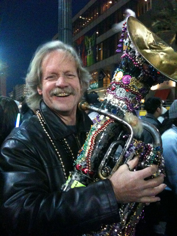 "JJ and ""Daisy"", New Orleans, 2010"