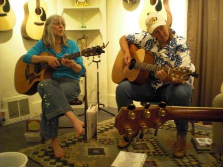 Sandy Reay with Sylvia Murray, Pickin' on Tennyson