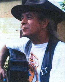 Terry Dalton, singer, songwriter, guitar player