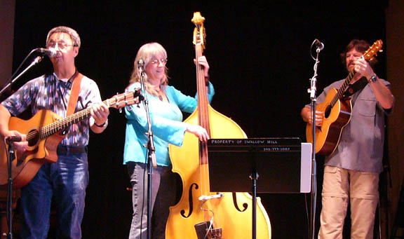 Ernie Martinez, Sandy Reay, Rick McGregor at Swallow Hill Folk Festival