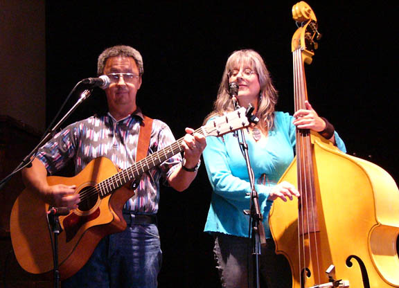 Ernie Martinez, Sandy Reay at Swallow Hill Folk Festival