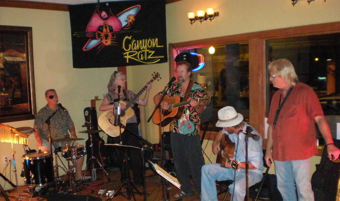 Mark Merryman & the Canyon Ratz with Wade Krause, Sandy Reay, Markos Mortensen, jeff Ingram